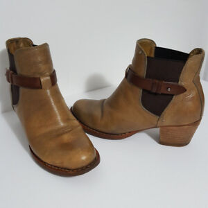 Rag & Bone Chelsea Ankle Boots Brown Leather Sz 7.5