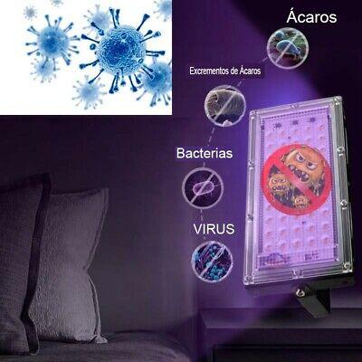 Foco ultravioleta UVC esterilizador 50 LEDs de 50W alta potencia ENVÍO 24H