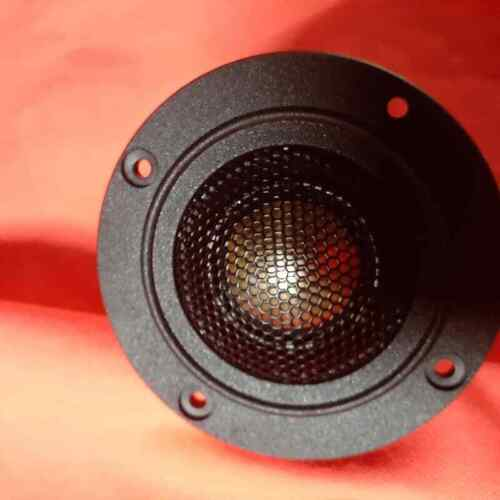 TWEETERS WITH REAR ABSORPTION CHAMBER NEOFYMIUM TITANIUM DOME SILK SUSPENSION FE
