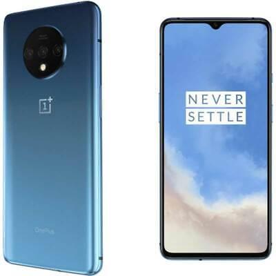 OnePlus 7T LTE 128GB 8Gb Ram Dual SIM glacier blue No Brand Garanzia Eu Nuovo