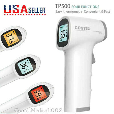 Us Warehouse Digital Non Contact Infrared Forehead Thermometer Temperature Meter