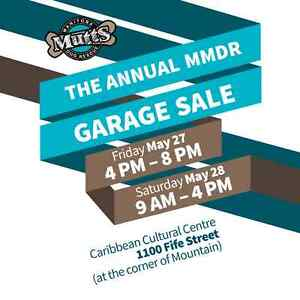 3rd Annual GIANT Garage Sale in Support of Manitoba Mutts