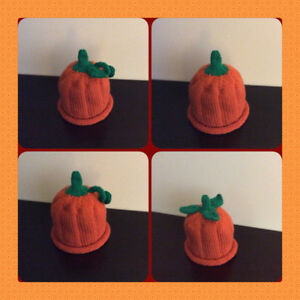 Hand Knit Pumpkin Hats and more