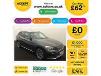 BMW X1 FROM £62 PER WEEK!