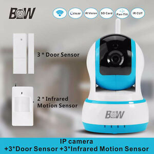 secure your house with BW-IPC002 Wireless survillance camera