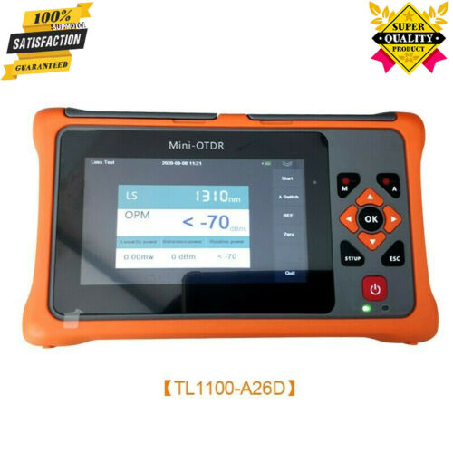 1310/1550NM OTDR Tester Optical Time Domain Reflectometer OPM For Optic Fiber