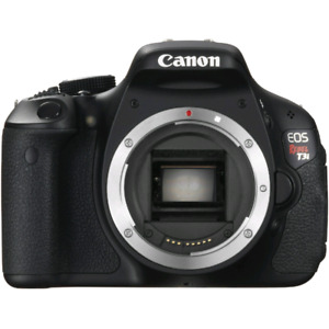 Canon T3i (Body Only + Strap)