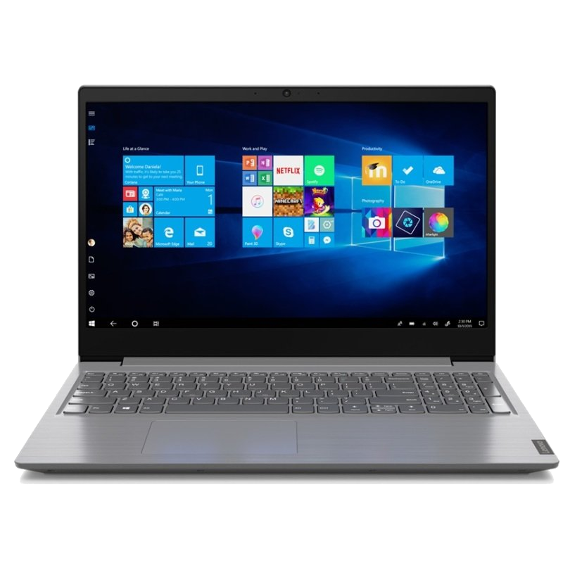 "Laptop Windows - Lenovo V15 82C7009DUK AMD A4-3020E 8GB 256GB SSD 15.6"" FHD Windows 10 PRO Laptop"