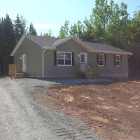 $429 Bi Weekly, 3 bed 2 bath, Insulated Basements, 1 Acre Land