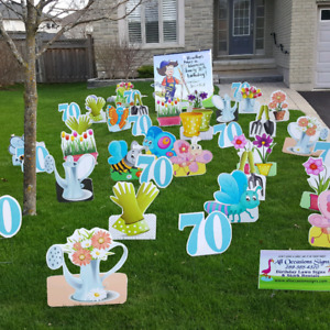 Birthday Lawn Signs And Stork Rentals