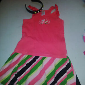 Girls Gymboree Outfit with headband