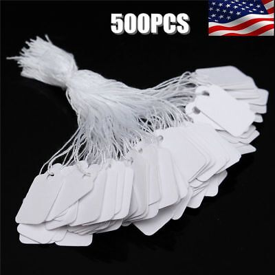 500Pk Marking Price Tags Label Paper Sale Discount For Retail Merchandise Store