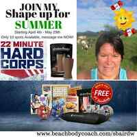 Get Summer Ready - Hard Corp Fitness and Nutrition Program