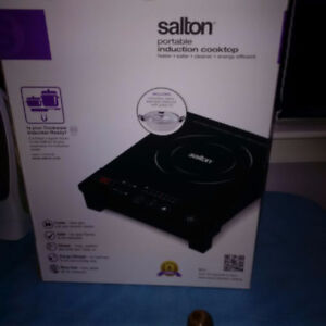 Salton Portable Induction Stove top