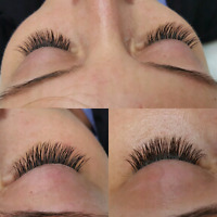 Eyelash extension promotion only $90