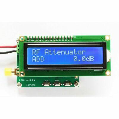 Hp363 Rf Power Meter -50 To 0dbm 1m-10ghz Attenuation Value For Radio Instrument