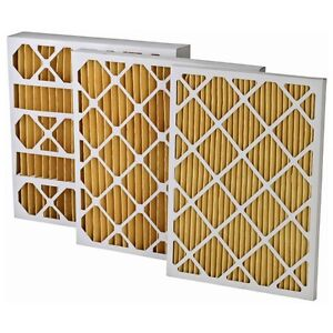 3 Pack 16x20x4 MERV 11 Home Air Pleated Furnace Filters
