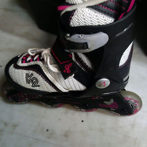 K2 Rollerblades adjustable