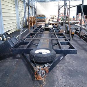 40' tri axle 10,000 lb trailer