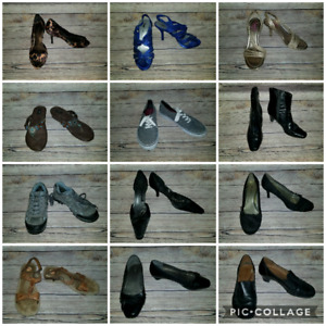 Ladies shoes size 9 to 9.5