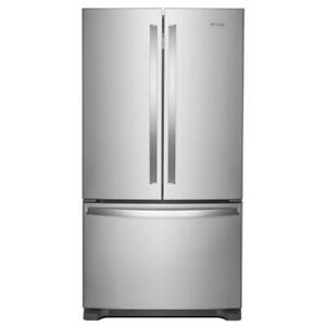 Whirlpool 36-inch Wide Counter Depth French Door Refrigerator (WL2667)