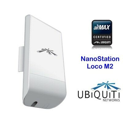 UBITIQUI NanoStation Loco M2 150Mbps 2.4Ghz Indoor/Outdoor AirMax 8dBi CPE NUEVO, usado segunda mano  El Barri del Ter