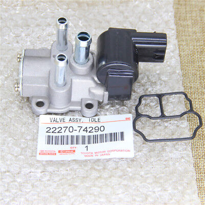 - Idle Air Control Valve For 95-99 Toyota Camry Celica 2.2L With Gasket 2227074290