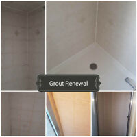 Refinishing Bathtubs & Tile, Grout Cleaning & Caulking Renewal