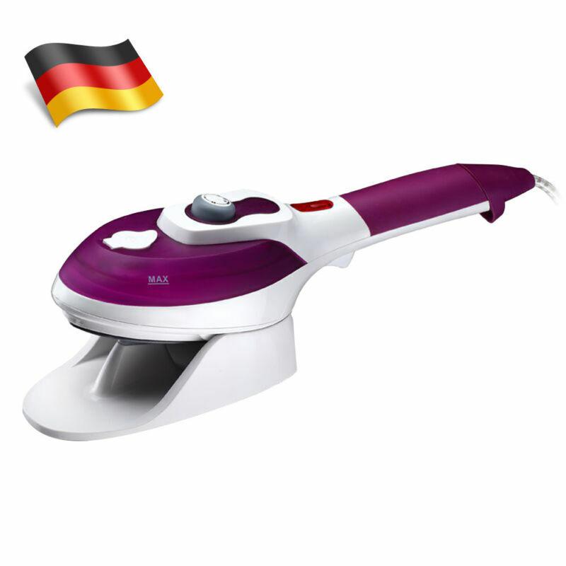 Reisebügeleisen Dampfglätter 1000W Dampfbürste Reise Steamer Tragbar Handheld DE