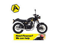 LEXMOTO VALIANT 125 EFI - CLASSIC RETRO MOTORCYCLE - LEANER LEGAL
