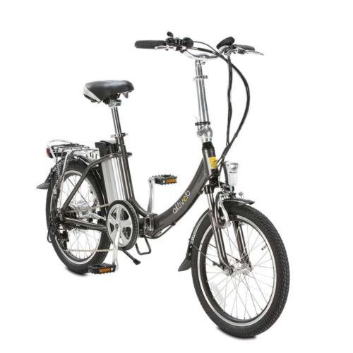Elektro Faltrad Klapprad Ebike für Erwachsene faltbar 20 Zoll 6-Gang bis 75 km