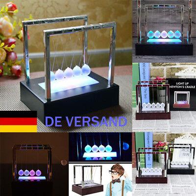 Wiege Newtonpendel Leuchten Kugelstosspendel Spielzeug Physik Balance Geschenk