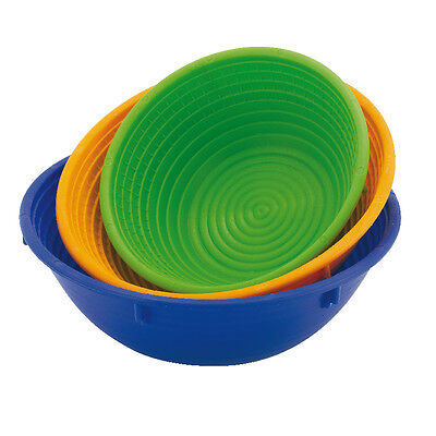 - Paderno basket for dough round Green - Bread proofing basketball