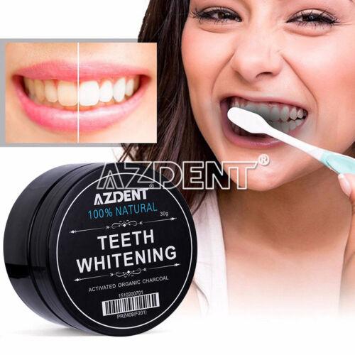Dental Teeth Whitening Powder 100% Natural Activated Organic Charcoal 30g