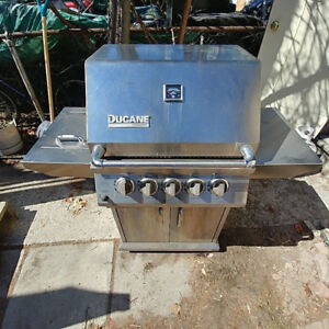 Ducane Natural Gas Stainless Steel BBQ