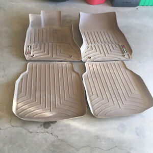 BMW BRAND  SET OF FRONT AND REAR WEATHER TECH MATS 150$ FIRM