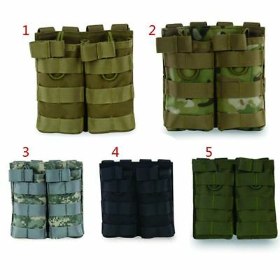 Tactical Military Magazine Pouch Nylon Double Mag Pouch Paintball Gear Bag