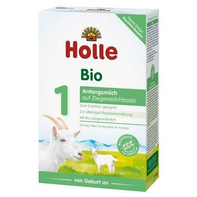 Holle Organic Goat Milk Stage 1 (4 boxes x 400g) FAST SHIPPING! Expires 07/2020