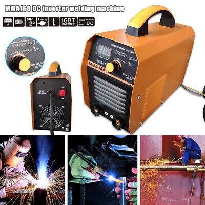 Mma Arc Welding Machine 110v220v 160a Portable Dc Igbt Inverter Welder Us Plug