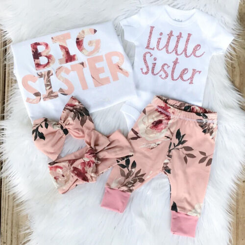 US Newborn Infant Baby Girl Clothes Romper Playsuit Bodysuit