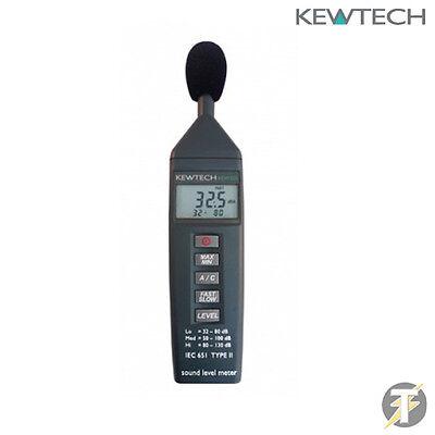 Kewtech Kew325 Sound Level 32db-130db Meter Tester