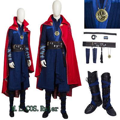 New 2016 movie Dr. Strange Marvel Doctor Strange Marvel select Cosplay Costume