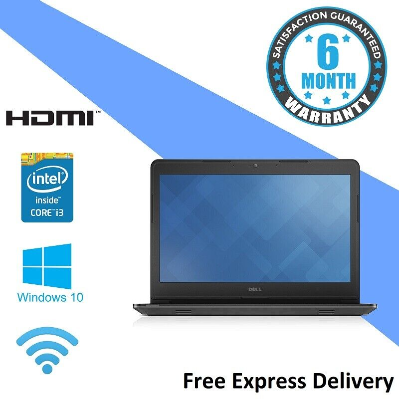 Laptop Windows - Dell Lat 3450 Windows 10 Laptop - i3-4005U - 1.70Ghz | 4GB | 500GB - GRADE C