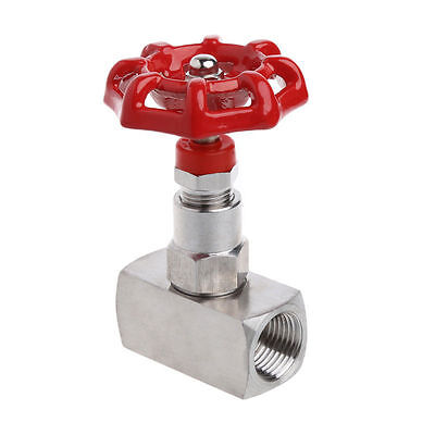 12 Dn15 Stainless Steel 316 High Pressure Needle Valve Female Thread J13w-160r