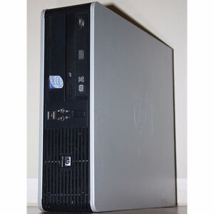 HP dc7800 SFF Desktop PC Core2 Duo 2.33GHz DVDRW 4GB RAM 160GB