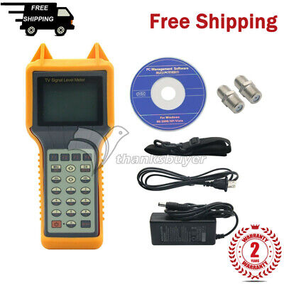 Ry200d Digital Tv Signal Level Meter Tester Catv Cable Testing 5mhz-870mhz Th