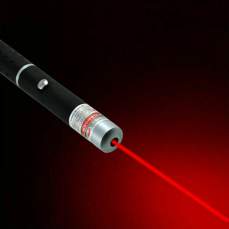 Batterien 1mW LASER POINTER LASERPOINTER ROT 2000m Reichweite SEHR STARK