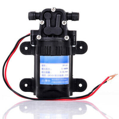 70psi High Pressure Diaphragm Self Priming Water Pump Car Washing Dc 12v 2.0a 1x