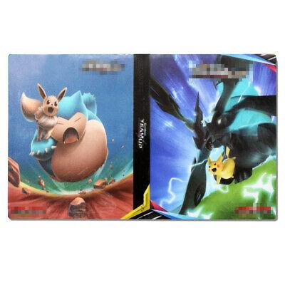 Pokemon Card Binder Portfolio Pocket Album Card  Portfolio Holder 240 Cards A
