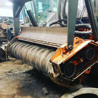 Mulcher rotor balancing and custom welding